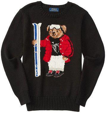 c7fafef0 Ralph Lauren Polo Bear Cotton Sweater | Ralph Lauren: polo bears #1 ...