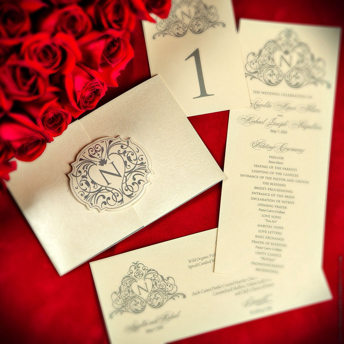 Celeste Invitation Suite www.shopsandispells.com | Ready-To-Order ...