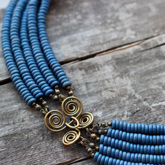 ukrainian blue red jewelry ukrainian jewelry coral colar