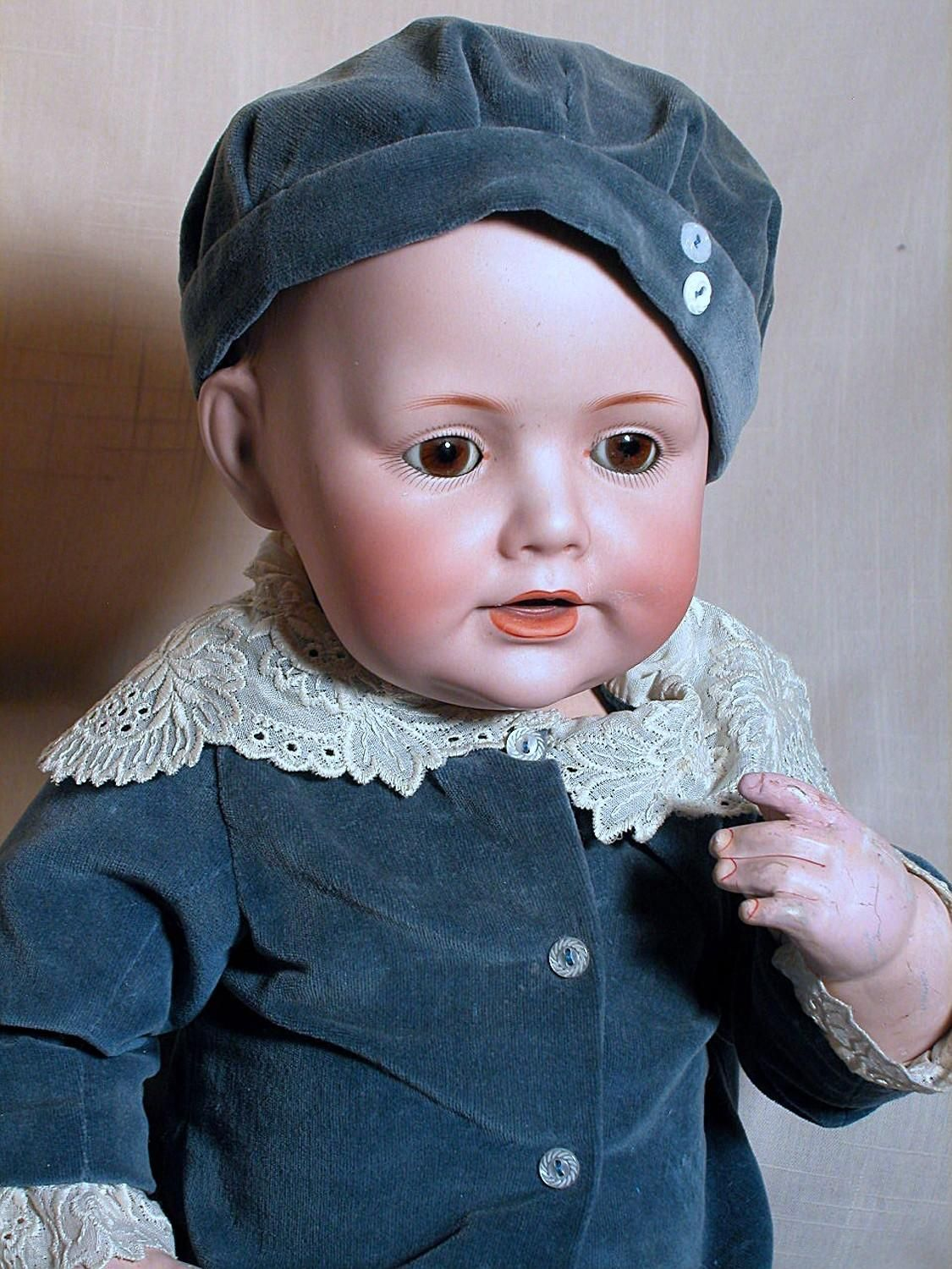 german kestner character doll baby jean bisque head composition baby