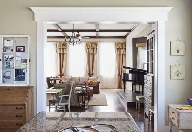 Nice Entryway Molding Home Remodeling Dining Room