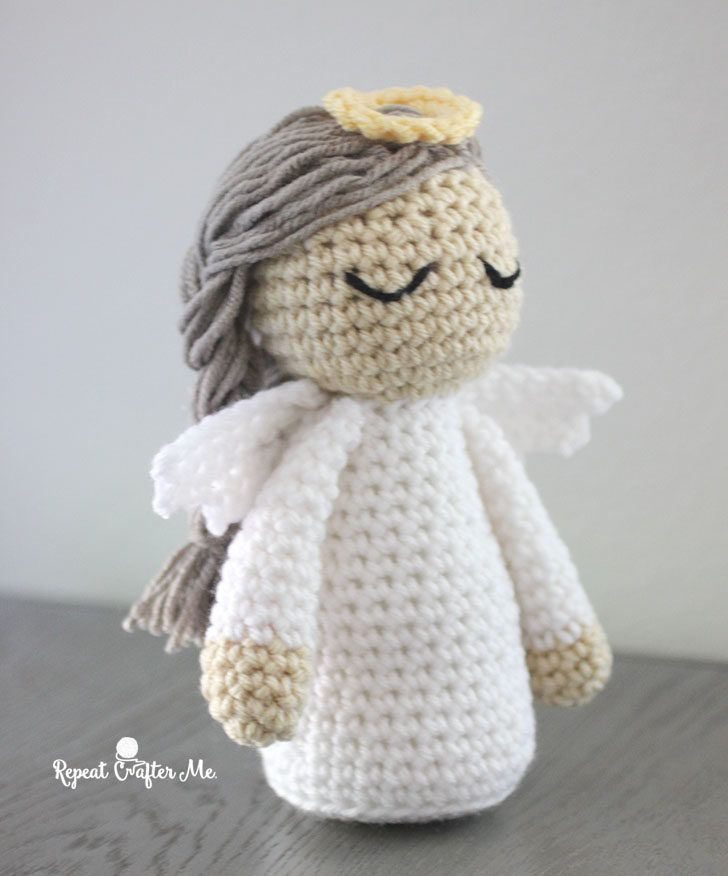 Crochet Angel Pattern - Sharon Carlsen #afghanpatterns