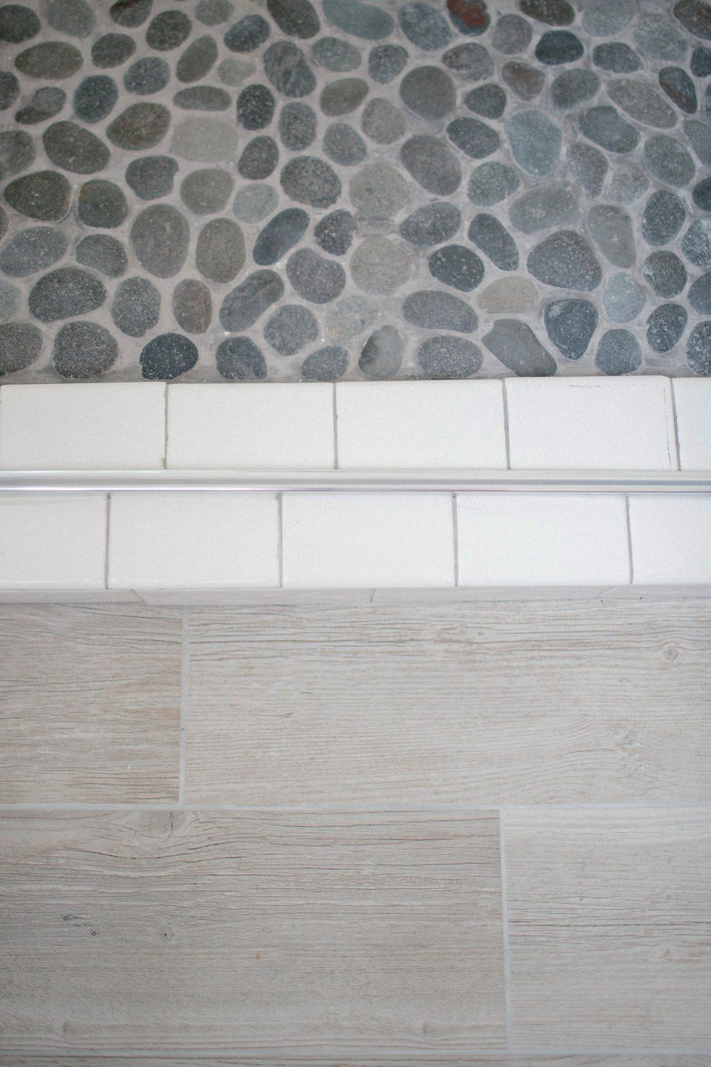 Our Master Bathroom Renovation Reveal   Mosaic floors, Wall tiles ...
