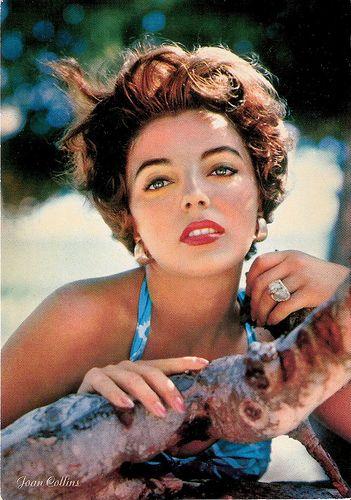 Joan Collins British actress