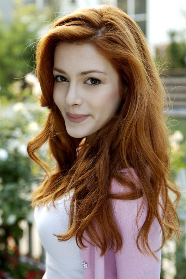 Elena satine red hair