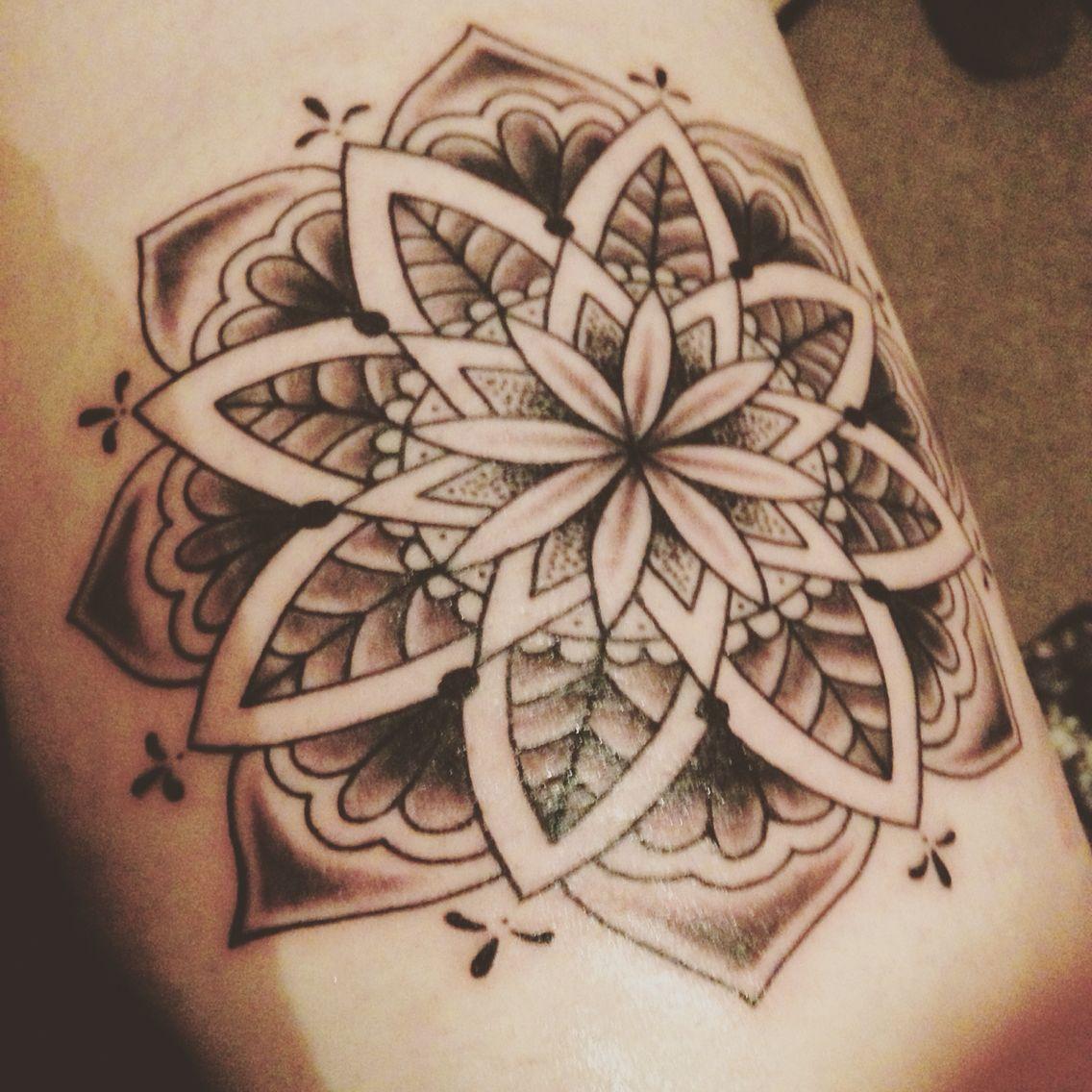 Mandala tattoo mandala tattoo compass tattoo tattoos