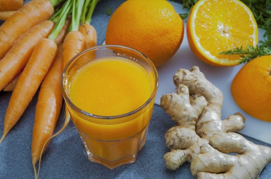 طريقة تحضير عصير البرتقال بالزنجبيل Food Vegetables Carrots