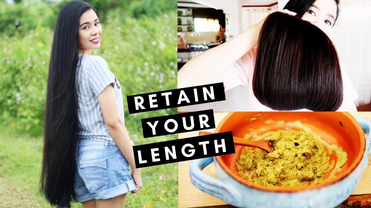 7 Tips for Length Retention & Thicker Hair -DIY Deep  Conditioning Mask ...
