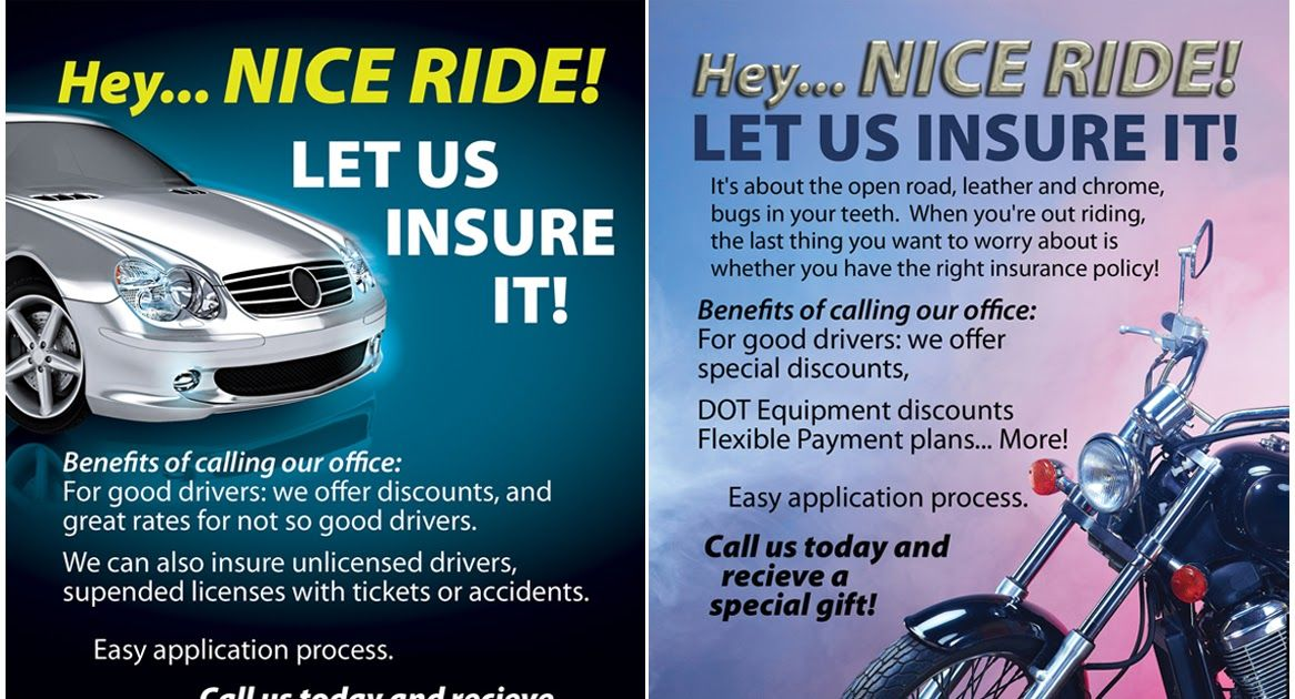Bold, Modern, Insurance Flyer Design for a Company by