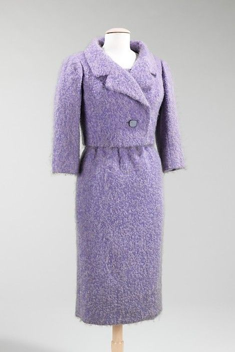 Givenchy ensemble ca. 1958 via The Costume Institute of the Metropolitan Museum of Art