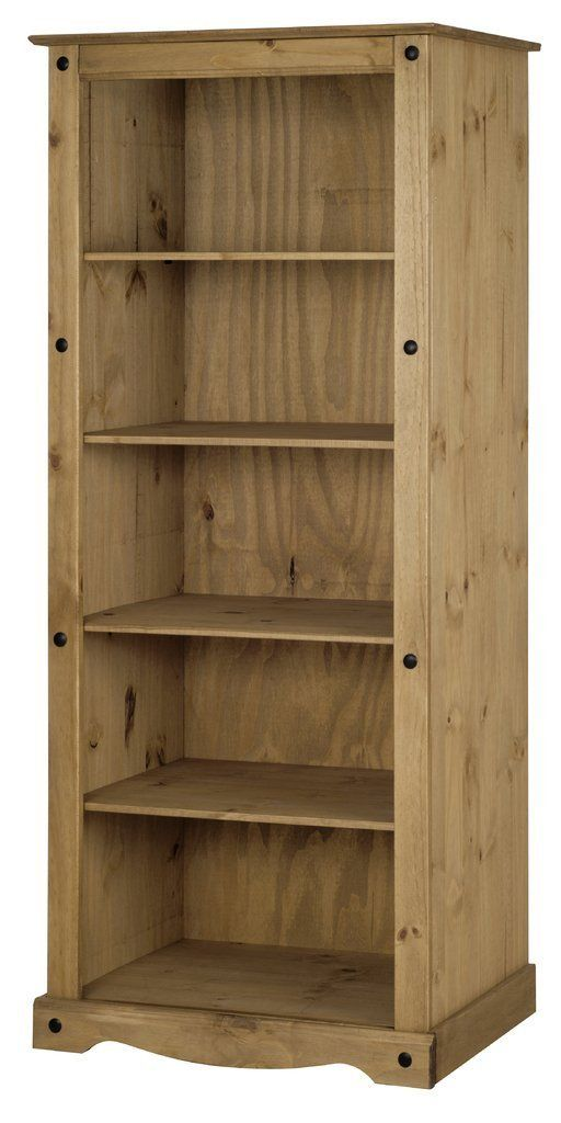 Corona Tall Large Bookcase Amazon Co Uk Kitchen Home Moveis Casas Marceneiro