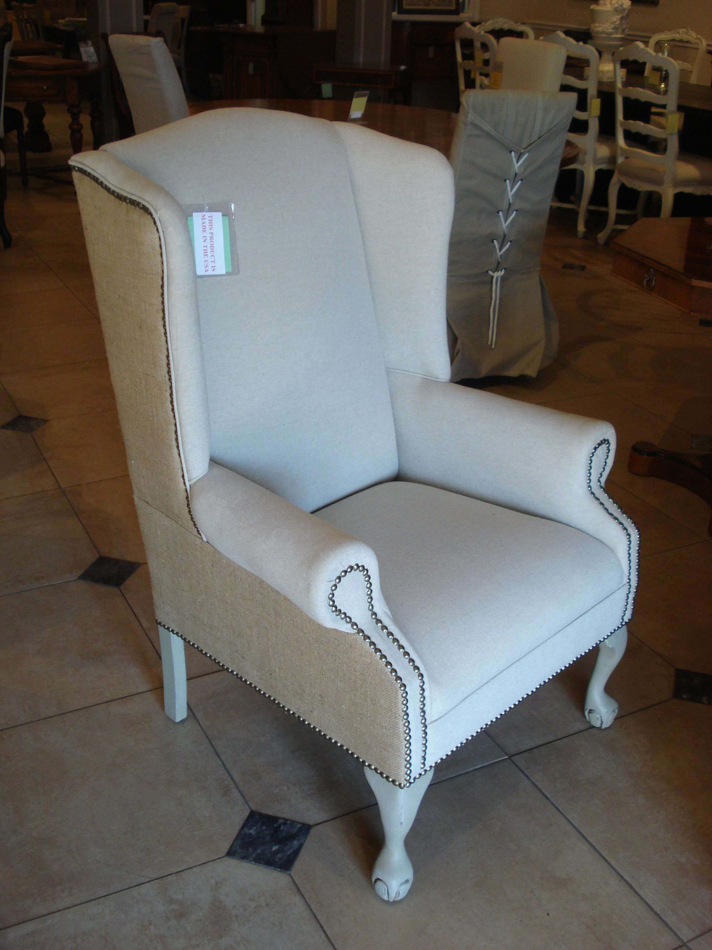 Adams Furniture Usa Wing Chair Made In High Point Nc Usa