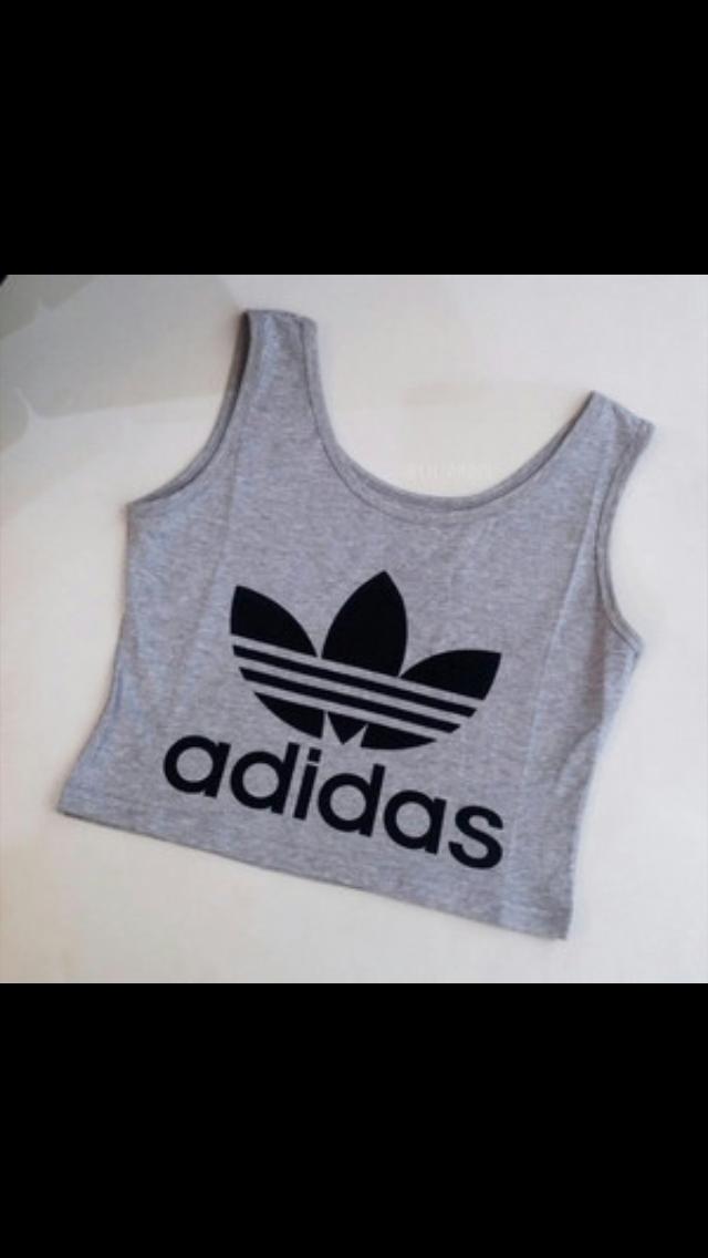 89867ba15ea Cute Adidas crop top | adidas in 2019 | Adidas outfit, Nike crop top ...