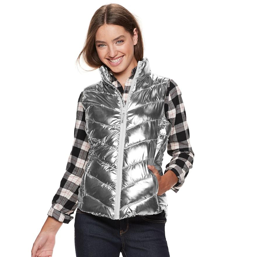 Juniors' SO® Puffer Vest | Puffer vest, Vest, Fashion