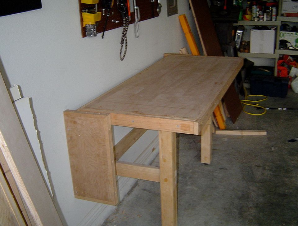 garage workbench design - Google Search | Folding workbench, Workbench designs, Workbench