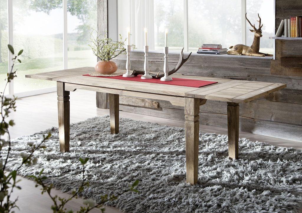 rustikale Möbel versandfrei kaufen Graue esstische