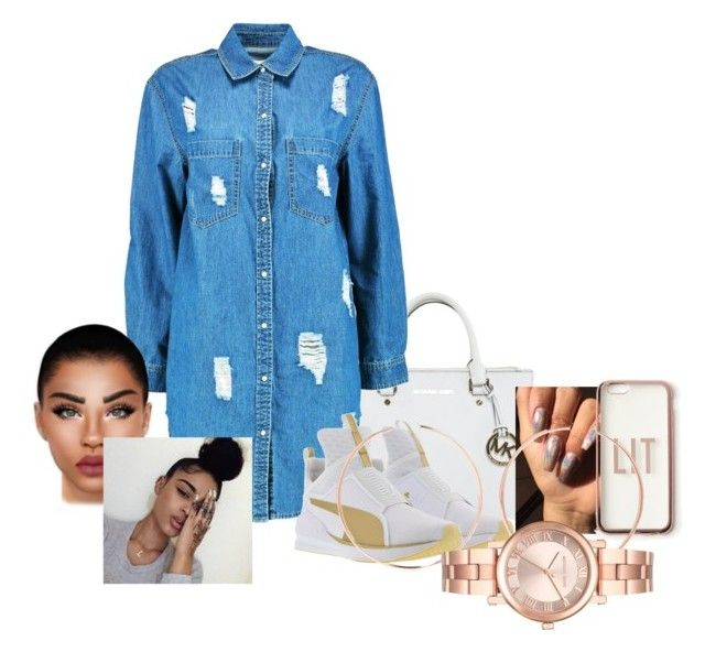 """Untitled #150"" by fagsn on Polyvore featuring Michael Kors, Boohoo, Puma, Missguided and Anita Ko"