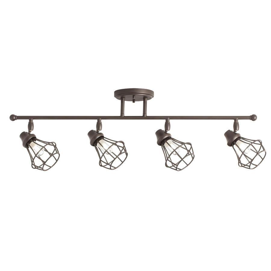Kichler Lighting Bayley 4-Light 32.24-in Olde Bronze Dimmable Standard Fixed Track Light  sc 1 st  Pinterest & Kichler Lighting Bayley 4-Light 32.24-in Olde Bronze Dimmable ...