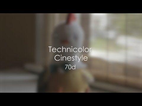Technicolor Cinestyle VS Neutral Picture Style on the Canon
