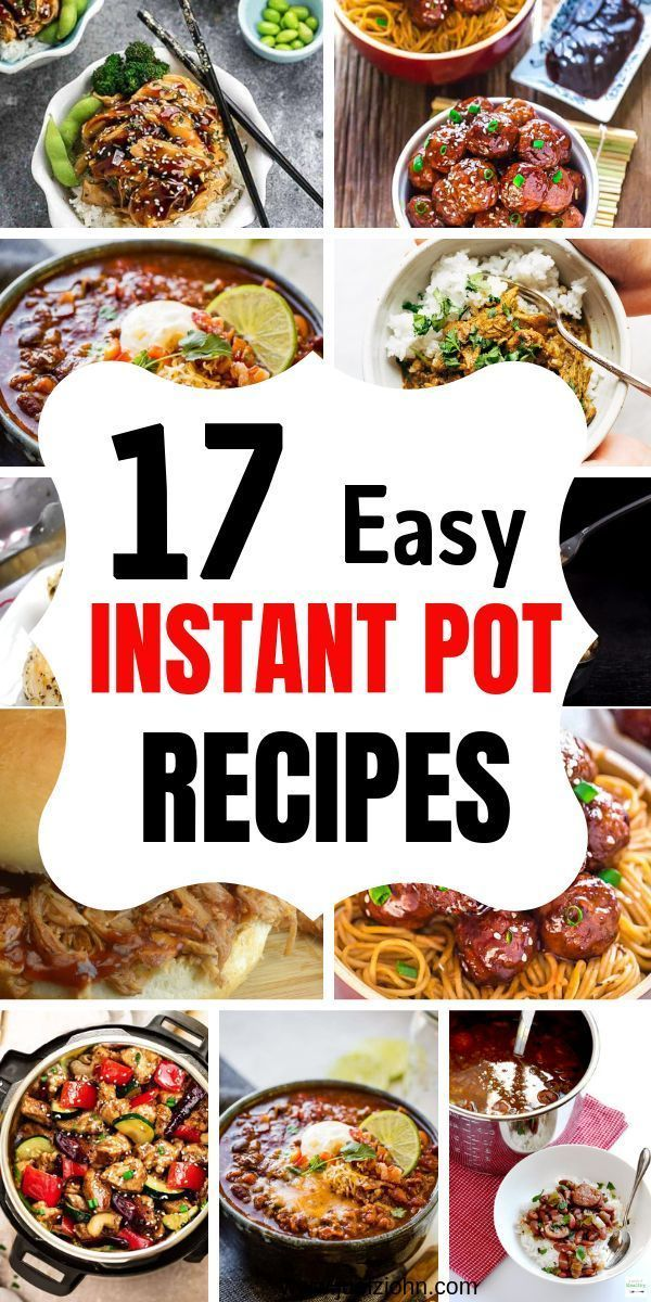 Healthy Instant Pot Recipes Perfect For Busy Nights  healthy Recipes
