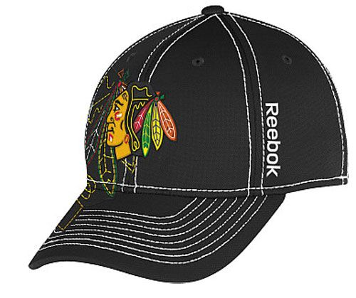 21290e9062b7c Chicago Blackhawks 2013 NHL Draft Flex Hat  24.95  Brian Friend Up  Leslie  Mallman Tribune