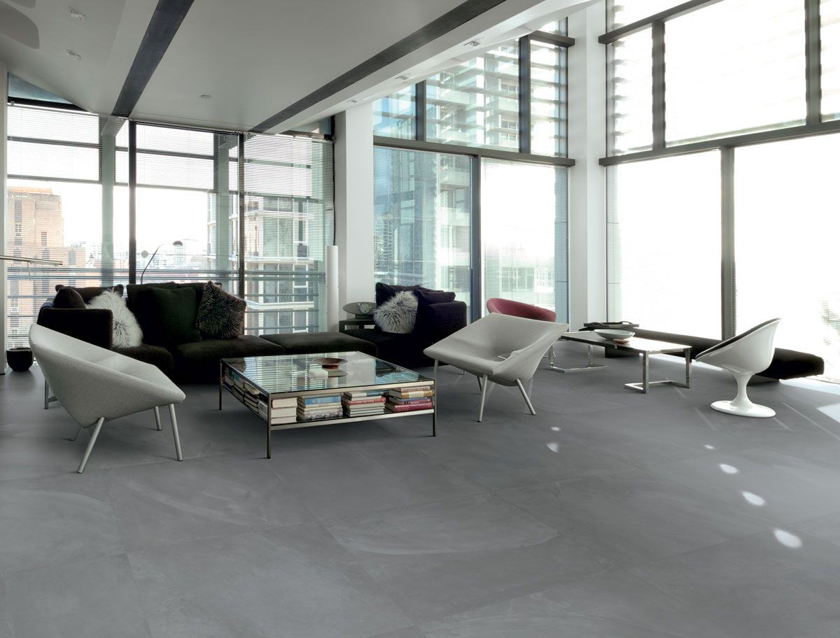 signorino tile gallery | architect resin range | london smoke