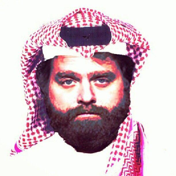 سعودي لرياض Artwork Art Hangover Zach شماغ Art Artwork Drawings