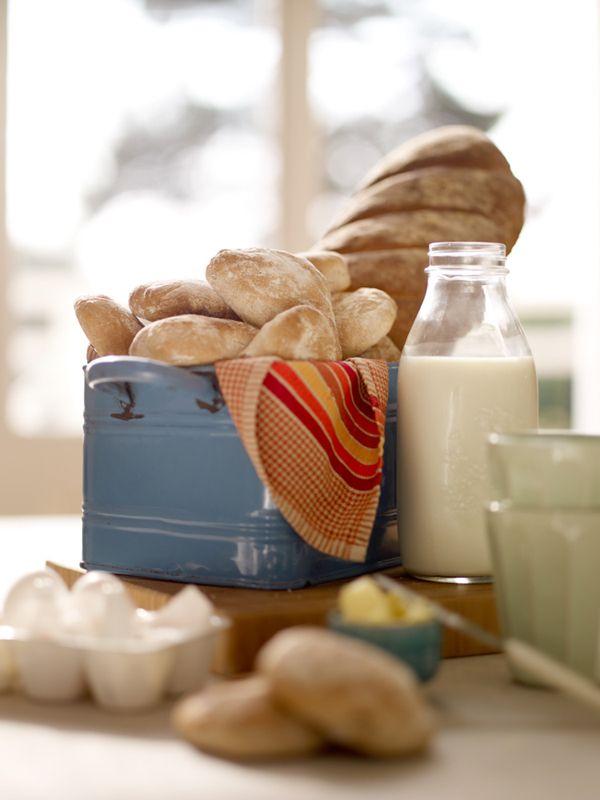styling by Camilla Krishnaswamy. Milk, bread
