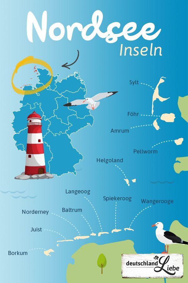 Nordseeinseln In Deutschland ᐅ Eure Top 12 Nordseeinseln