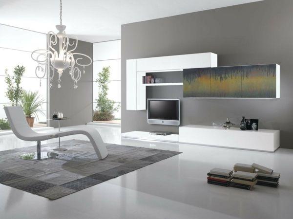 Minimalistisch Wohnen Wohnzimmer Gestaltung