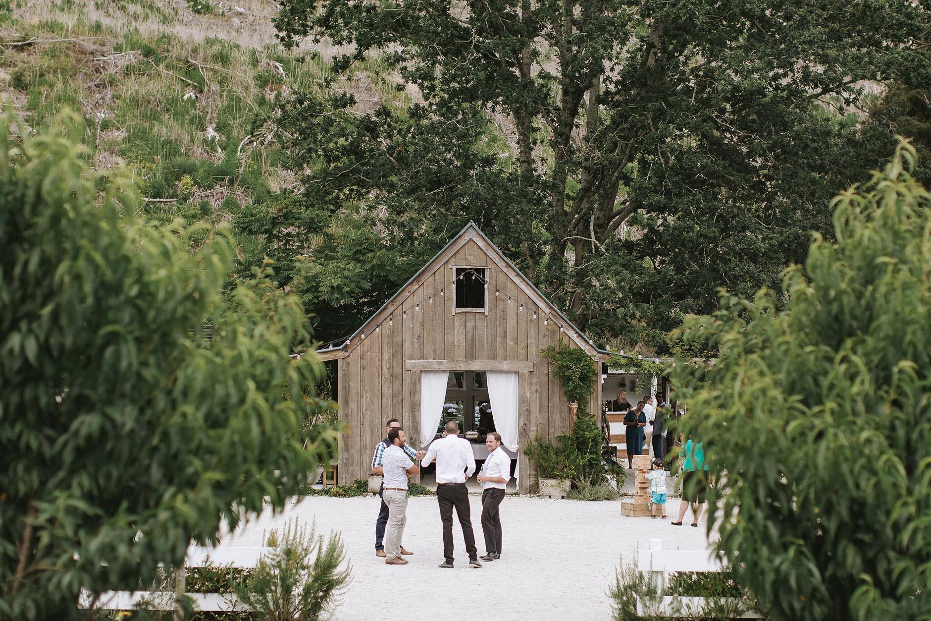 Lucy & Tom Forest school, New zealand wedding venues