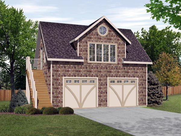 2 Car Garage Apartment Plan Number 45128 With 1 Bed 1 Bath Garage Apartment Garage Apartments Garage Apartment Plans Garage Loft