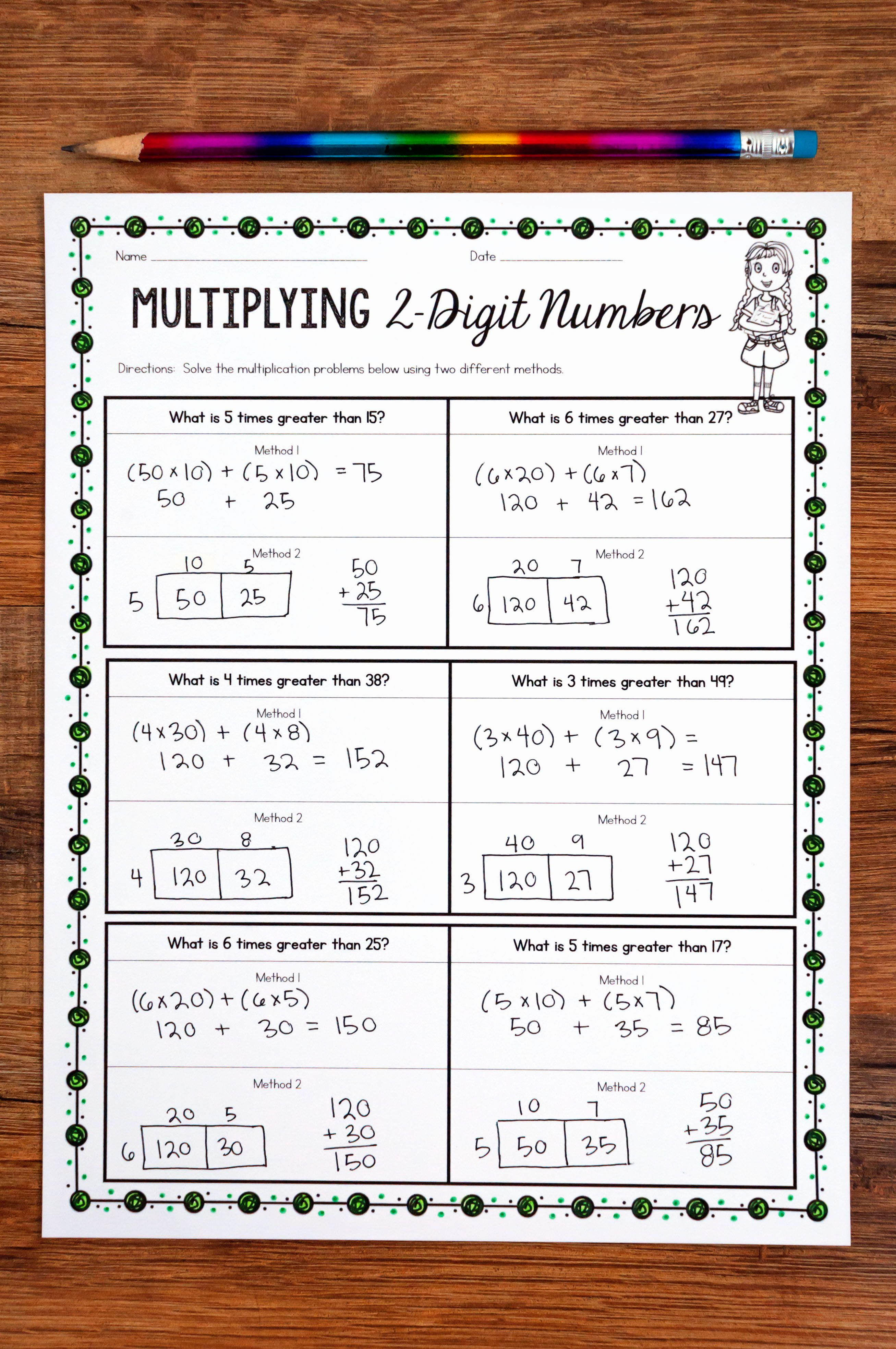 Teaching Multi Digit Multiplication