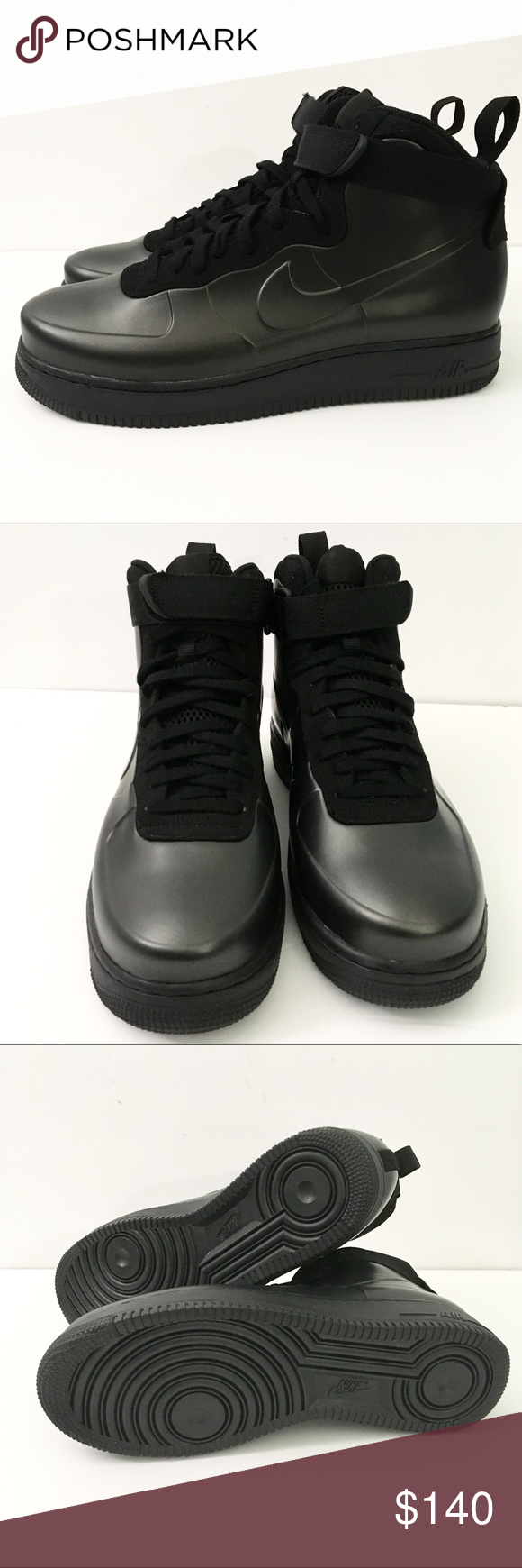 a817f53b63f82 Nike Air Force 1 One Foamposite Cup Triple Black Nike Air Force 1 One  Fiamposite Cup