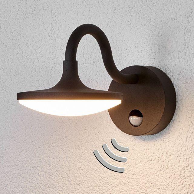 """LED Applique extérieur """"Finny"""" Moderne en Noir en Aluminium 1"""