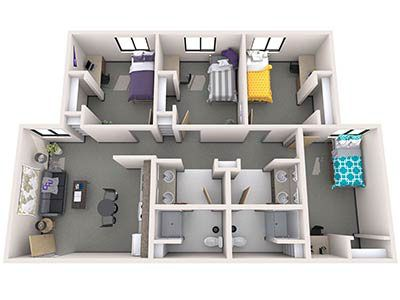 Office Of Residence Life Student Housing Grand Canyon University Dorm Layout Student House Dorm Room Layouts