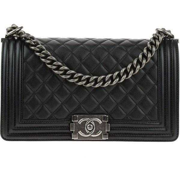 Chanel Pre-owned - Boy handbag in leather CsWyxEs