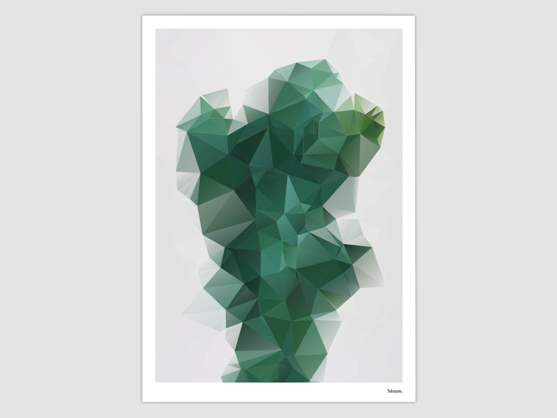 Kunstdrucke Modern kaktus moderne poster abstrakte kunstdrucke zeitgemäße wall