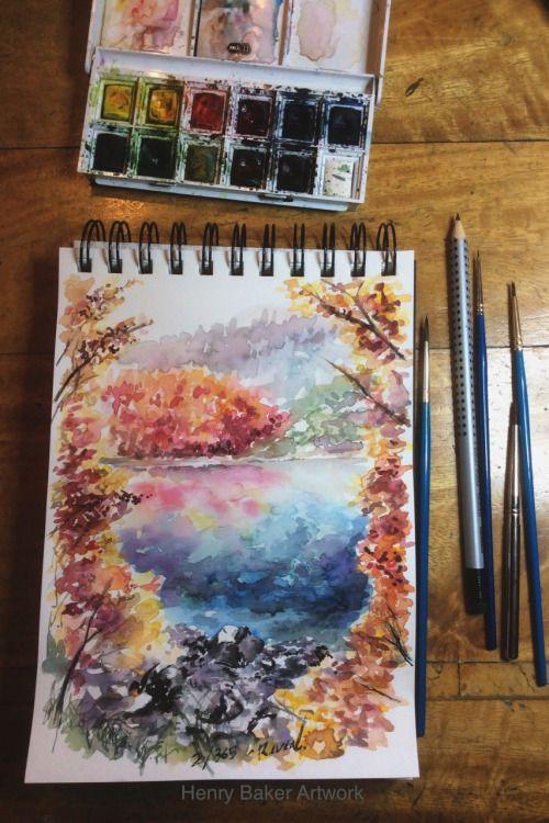 2/365 - Reveal - Drawing 365 Take 2 By Henry Baker Facebook Instagram
