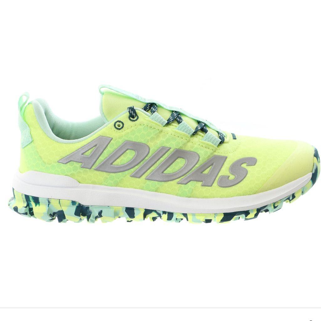 nice adidas Women's Vigor 6 TR W Running Shoe, Frozen Yellow/Silver/Green,  7 M US