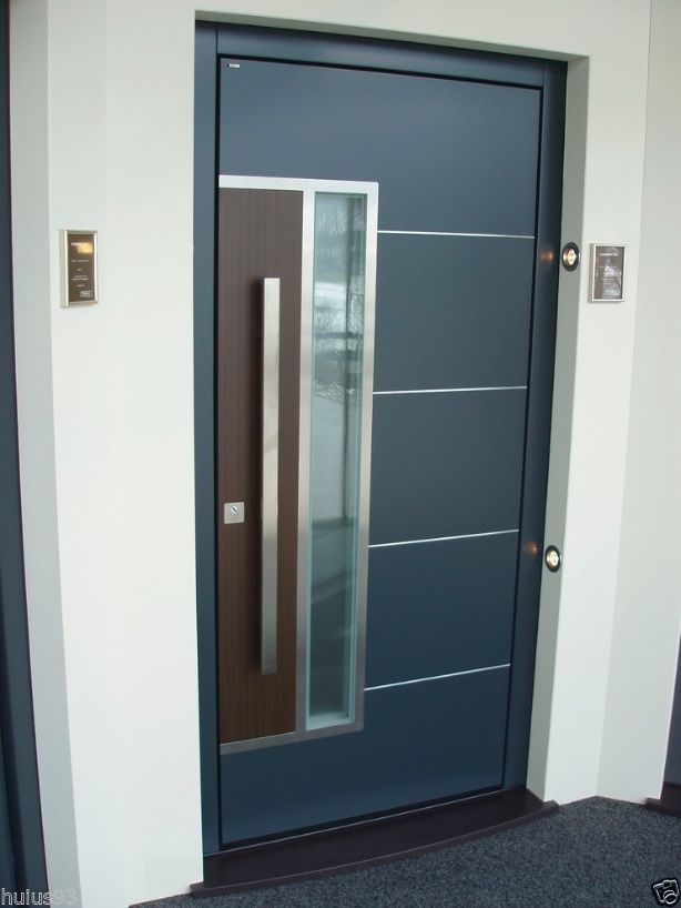 Modern Stainless Steel Entry Entrance Glass Timber Store ...
