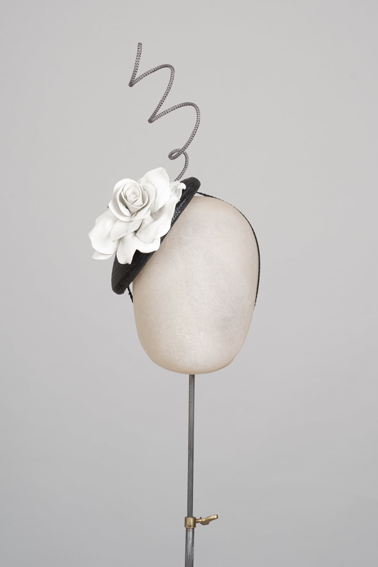 Ss 17 look 8 millinery cocktail hat hat base