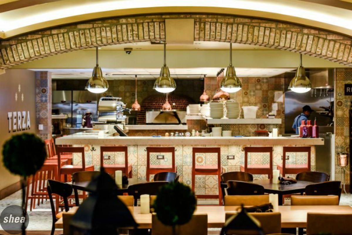 Terza // Rochester, MN #rochester #design #interiordesign #restaurantdesign  #bardesign