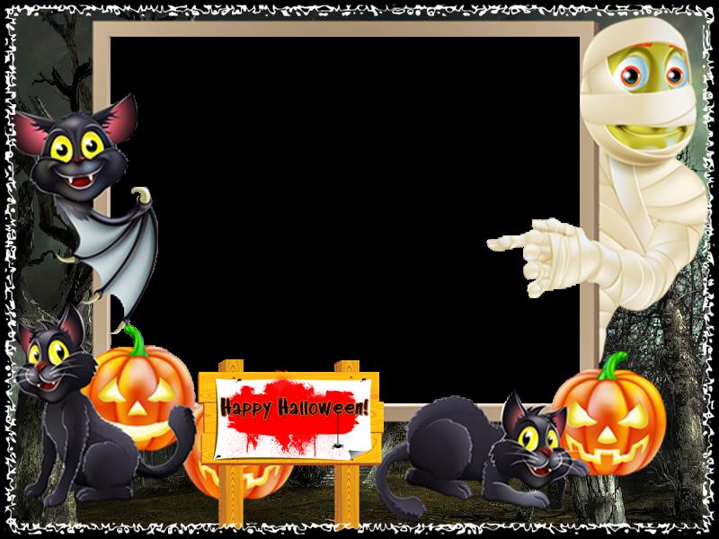 halloween y los demas frames de halloween estan en el tablero ...