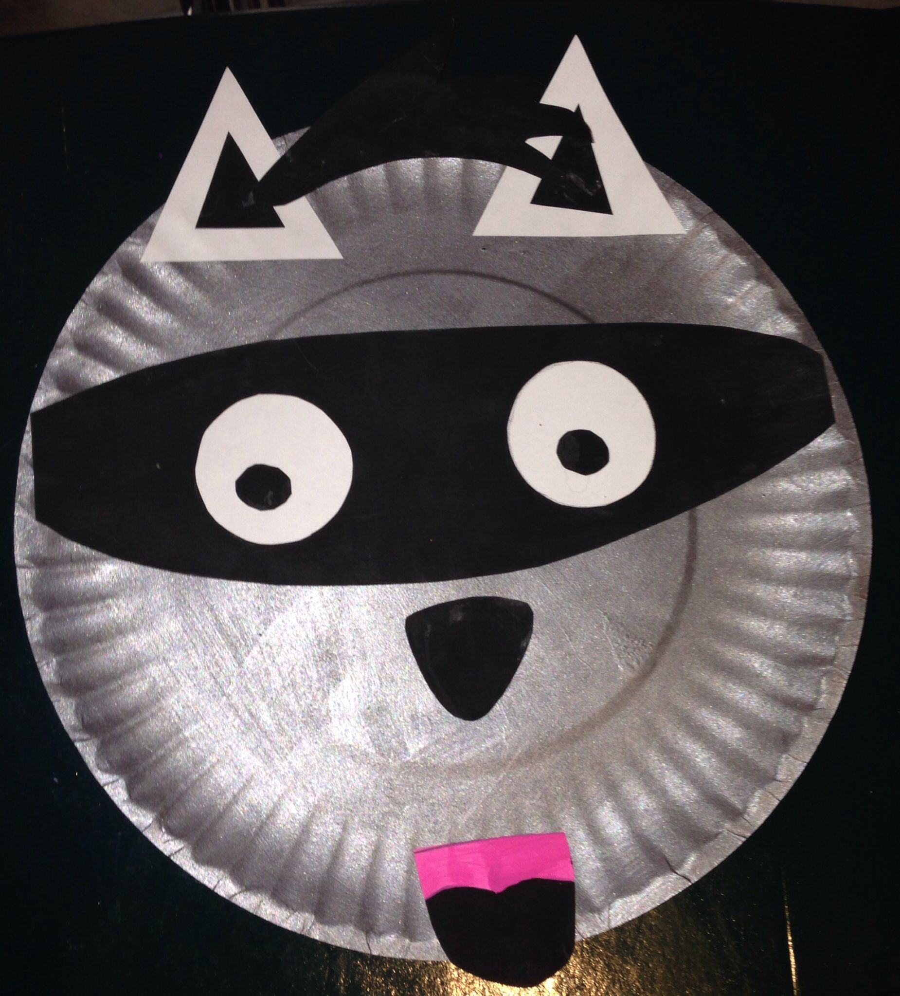 Chester The Raccoon From The Kissing Hand Book Paper A
