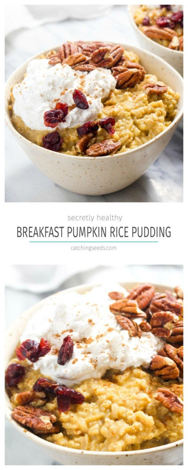 Pumpkin Spice Breakfast Rice Pudding | Recipe | Gluten ...