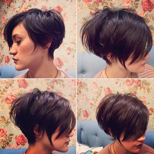 26 coupes ultra courtes pour femmes coiffure Coupe de