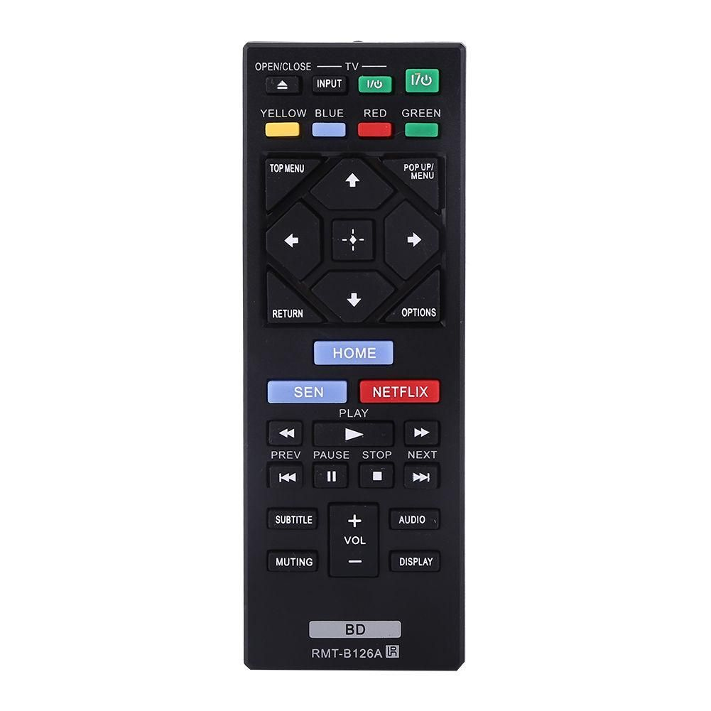 Remote Control Rmt B126a Dvd Controller For Sony Blu Ray Bdp S1200 Bdp S3200 S5200 Bdp S6200 Bdp S2100 In 2020 With Images Remote Remote Control Tv Remote Controls