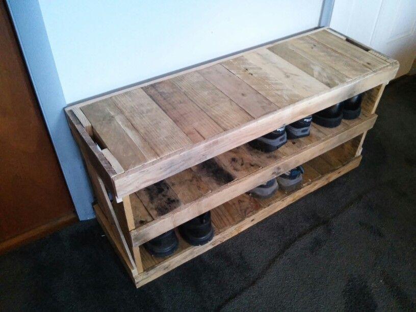 Simple Farmhouse Bench