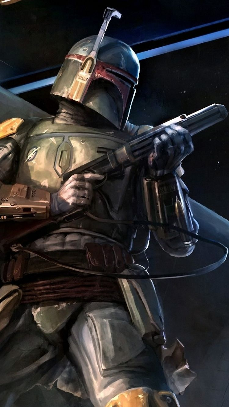 Sci Fi Star Wars Star Wars Mobile Wallpaper. Iphone SeBoba Fett ...